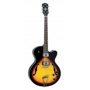 Guitarra Strinberg Sjs350 Sb Semiacustica