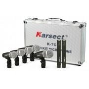 Kit Microfone Karsect K7c P/bateria 7pcs