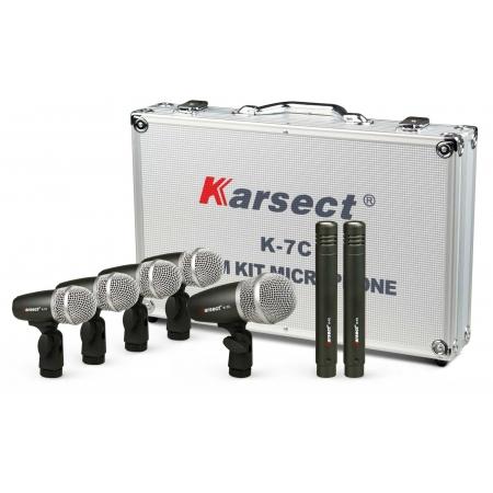 Microfone Karsect K7c Para  Bateria 7pcs
