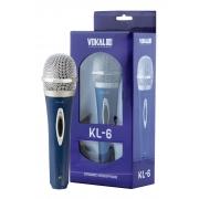 Microfone Vokal Kl6 Com Fio