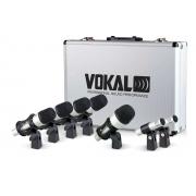 Microfone Vokal Para  Bateria Vdm7 (7pcs)