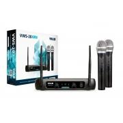 Microfone Vokal S/fio Vws20 Plus Duplo