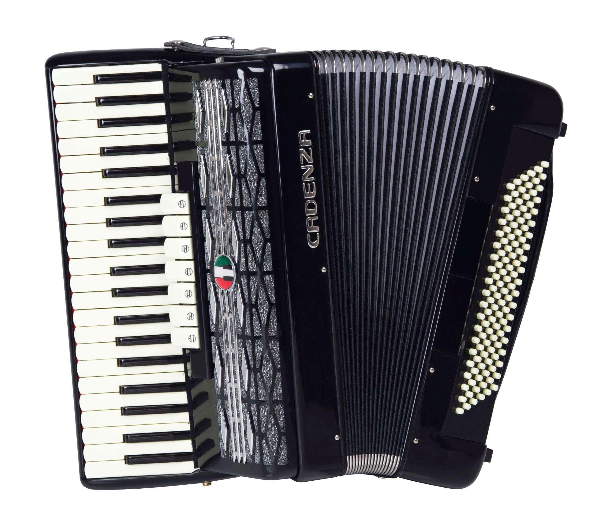Acordeon Cadenza Cd120b/41 Bk (preta)