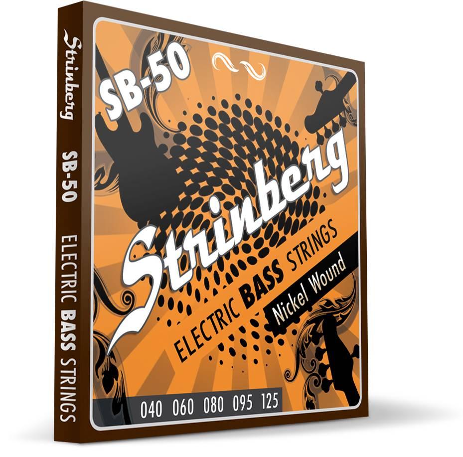 Encordoamento Strinberg Contrabaixo Sb50 5 Cordas