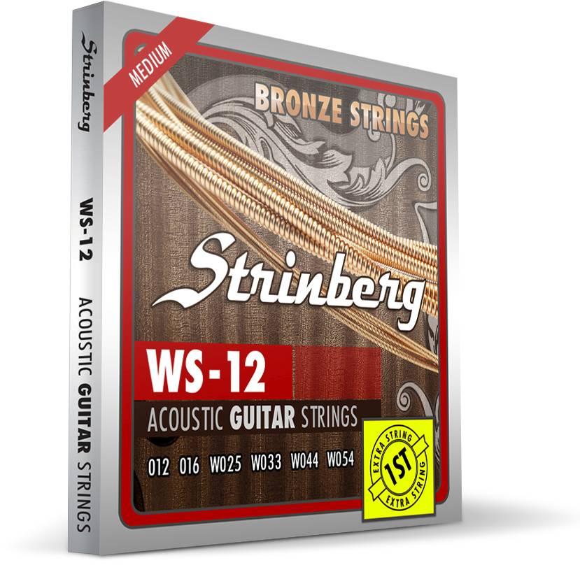 Encordoamento Strinberg Violão Aco Ws12