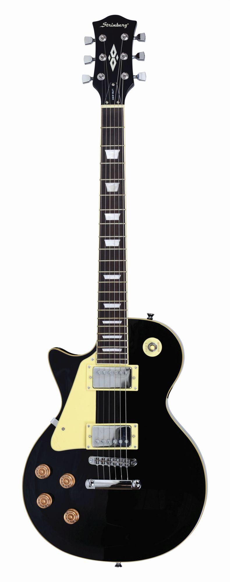Guitarra Strinberg Lps230 Bk Canhoto