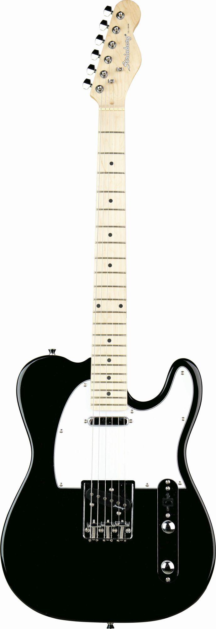 Guitarra Strinberg Tc120s Bk Tele