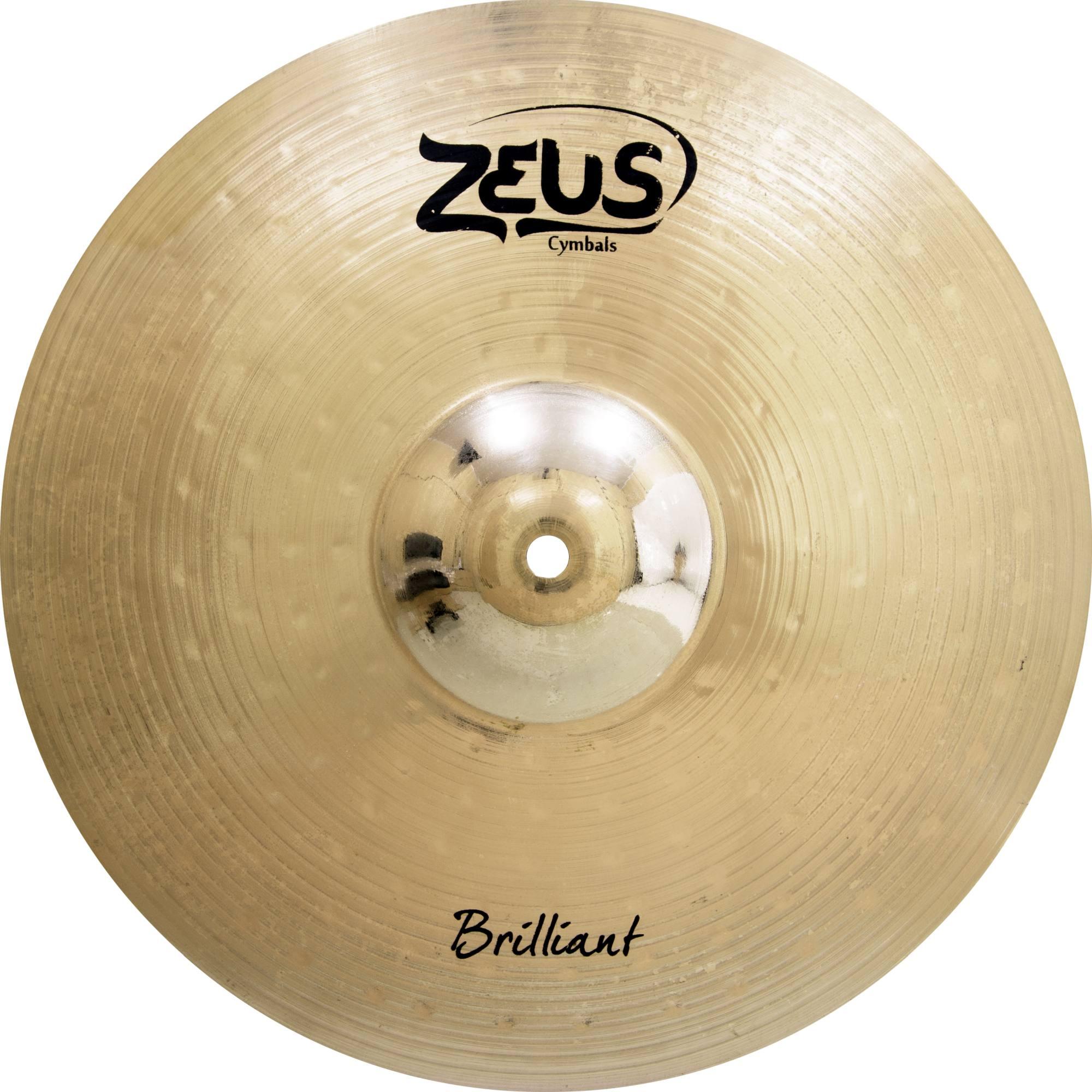 Prato Zeus Brilliant Hi-hat 14 (par) Zbhh14