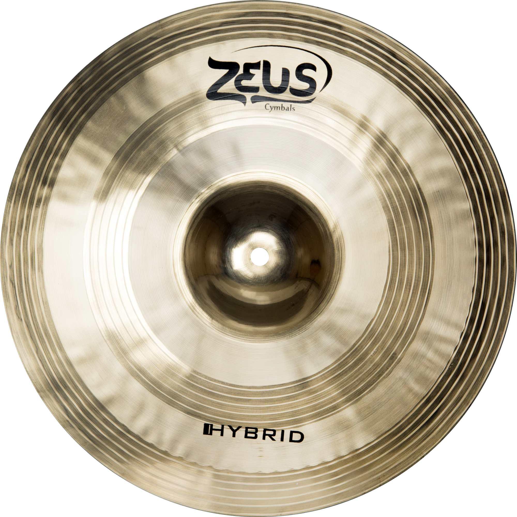 Prato Zeus Hybrid Hi-hat 14 (par) Zhhh14