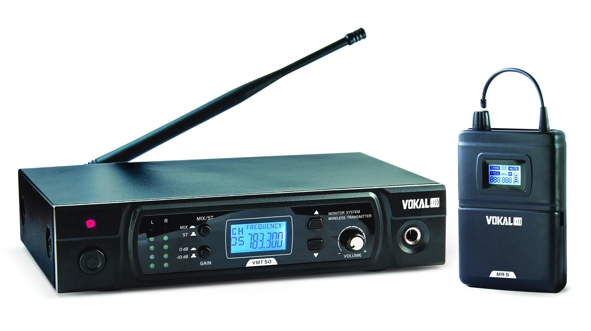 Sistema Monitor S/fio Vokal Vmt50 S/fone