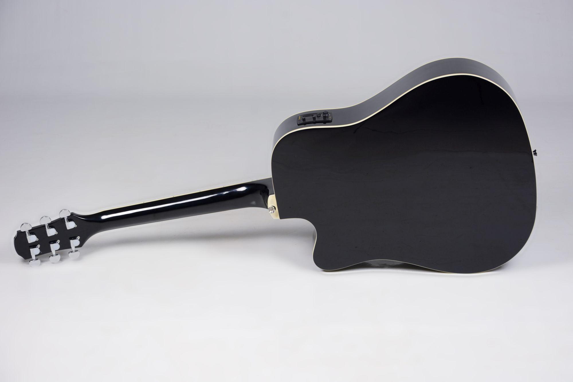 Violão Strinberg Eletroacústico London Le30c Bk Folk