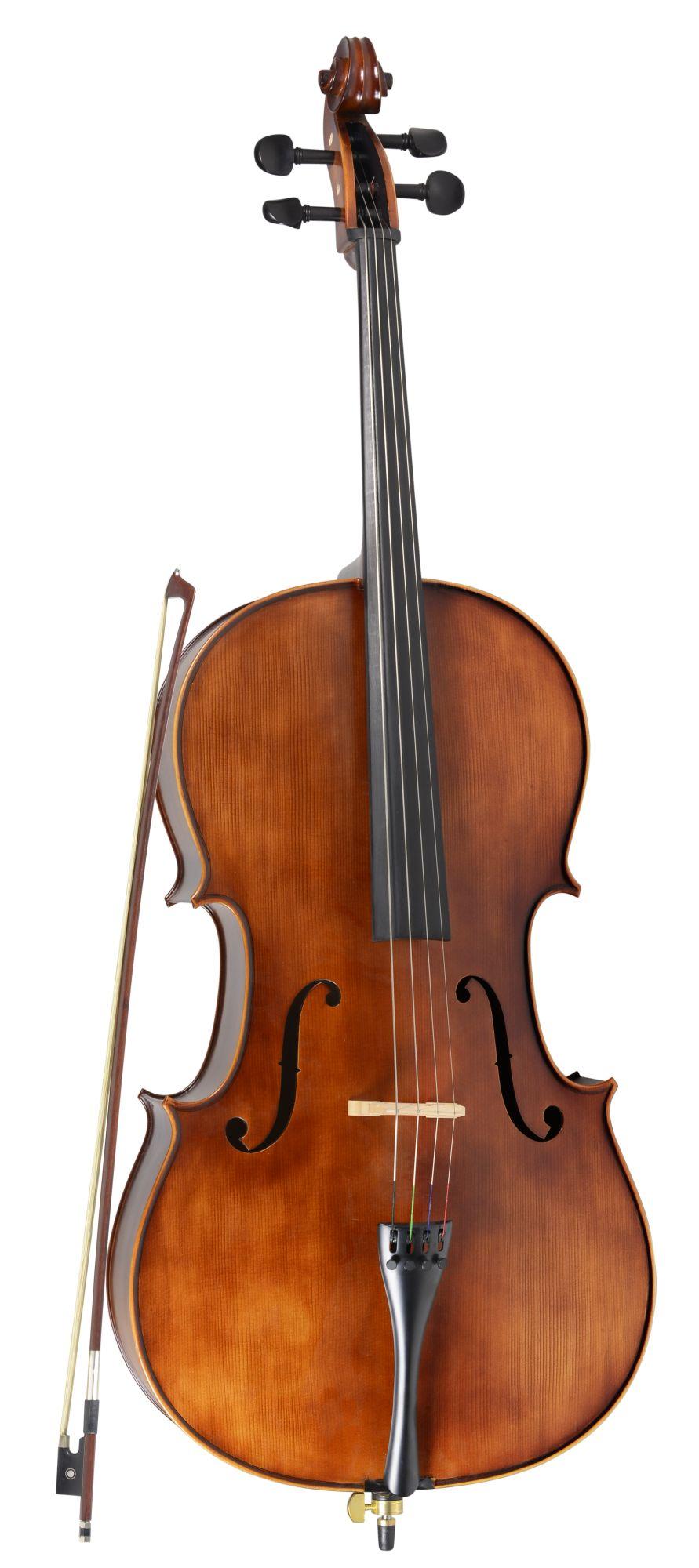 Violoncelo Vivace Cst44s Strauss 4/4 Fosco