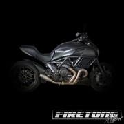 Escapamento Flame Ducati Diavel /11-17/