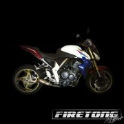 Escapamento Flame, Honda CB 1000 R /11-16/