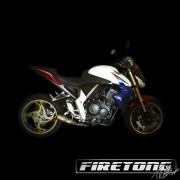 Escapamento Flame, Honda CB 1000 R /11-18/