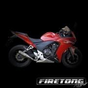 Escapamento Flame, Honda  CB 500F /14-17/