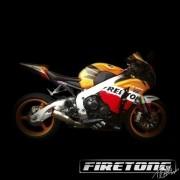 Escapamento Flame, Honda CBR 1000RR /08-11/