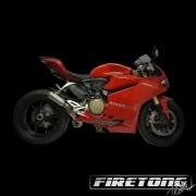 Escapamento Flame II, Ducati Panigale 1299 /16-17/