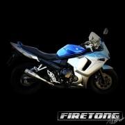 Escapamento Flame Suzuki GSX 650F  /09-17/