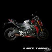 Escapamento Flame Suzuki GSX-S 1000  /16-18/