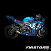 Escapamento Flame Suzuki SRAD 1000  /14-17/