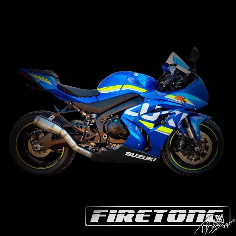 Escapamento Flame Full Suzuki GSX-R 1000 / 19~21/  - Firetong