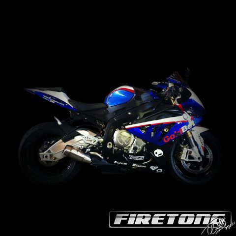 Escapamento Flame BMW S1000 RR  /10-17/  - Firetong