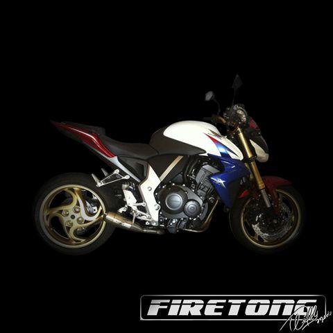 Escapamento Flame, Honda CB 1000 R /11-18/  - Firetong