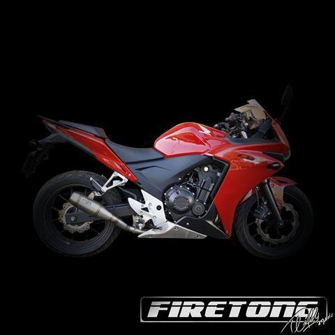 Escapamento Flame, Honda  CB 500F /14-17/  - Firetong