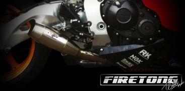 Escapamento Flame, Honda CBR 1000RR /08-11/  - Firetong