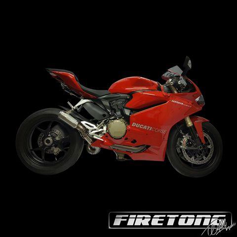 Escapamento Flame II, Ducati Panigale 1299 /16-17/  - Firetong