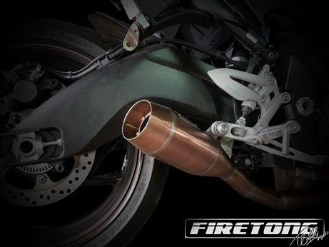 Escapamento Flame Suzuki GSX-S 1000  /16-18/  - Firetong