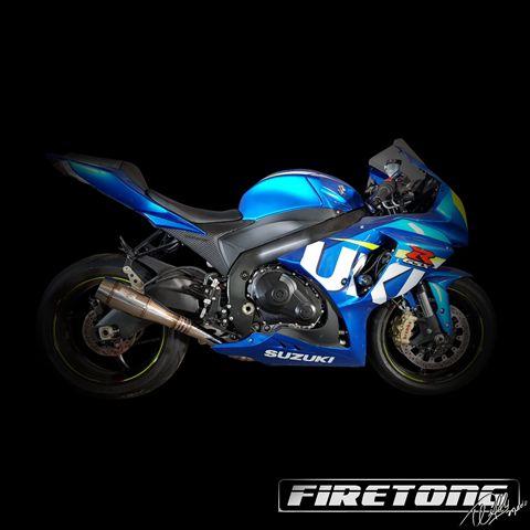 Escapamento Flame Suzuki GSX-R 1000  /14-17/  - Firetong