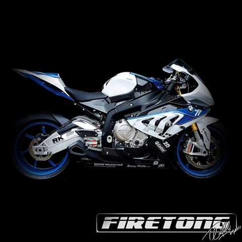 Escapamento Willy Made BMW S1000 HP4 /14-16/  - Firetong