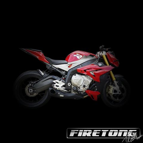 Escapamento Willy Made BMW S1000 R /13-17/  - Firetong