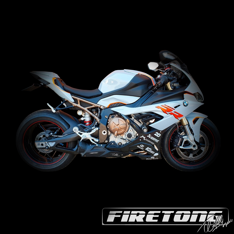Escapamento Willy Made BMW S1000 RR  /2020-2022/  - Firetong