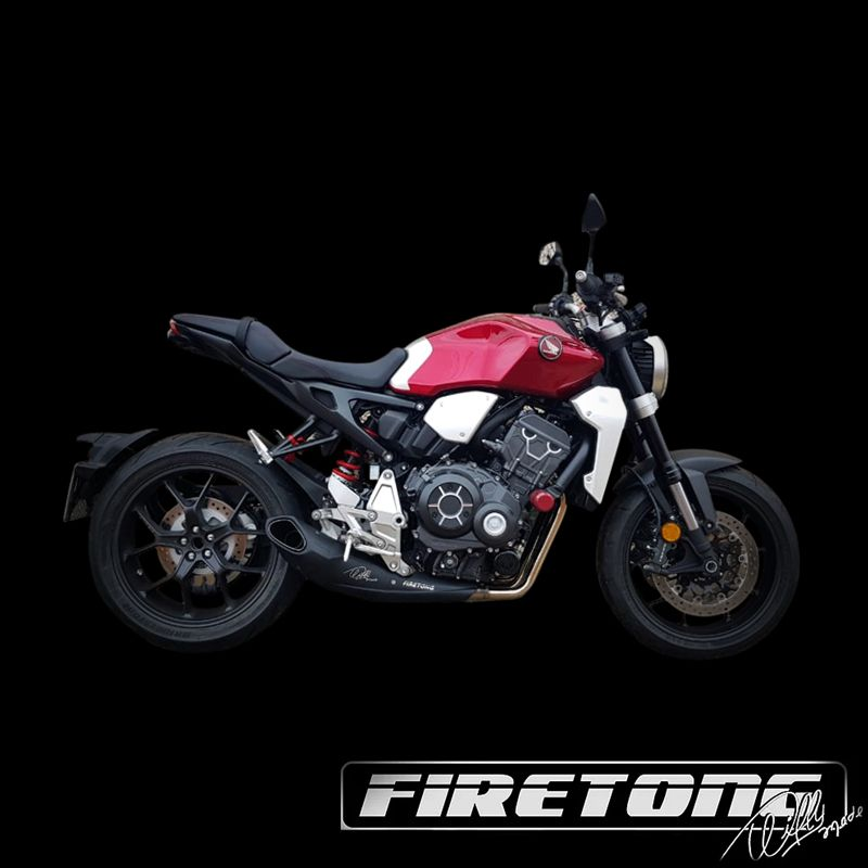Escapamento Willy Made Full, Honda CB 1000R /19-20/  - Firetong