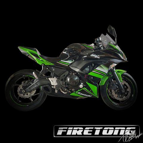 Escapamento Willy Made Full, Kawasaki Ninja 650 /18-21/  - Firetong