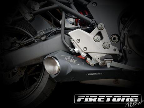 Escapamento Willy Made Full, Kawasaki Versys 1000 /13-18/   - Firetong