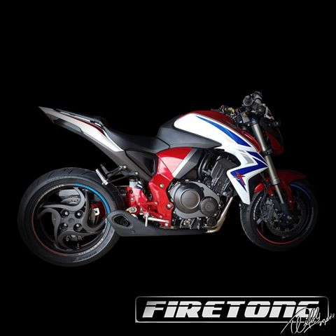 Escapamento Willy Made Honda CB 1000 R    - Firetong