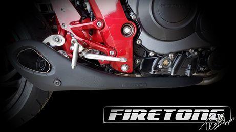 Escapamento Willy Made Honda CB 1000 R    - Firetong