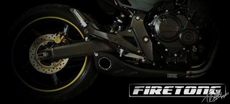 Escapamento Willy Made Honda CB 600F /08-14/  - Firetong