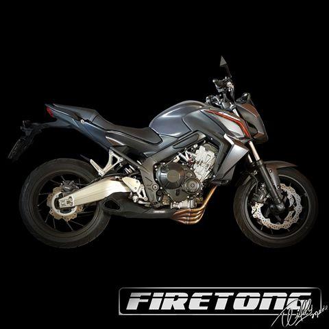 Escapamento Willy Made Honda CB 650 F /15-17/  - Firetong