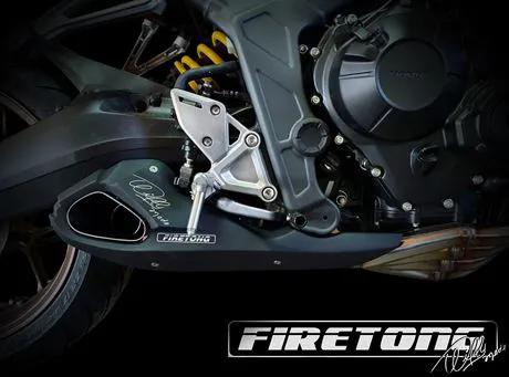 Escapamento Willy Made Honda CB 650 R /20~/  - Firetong