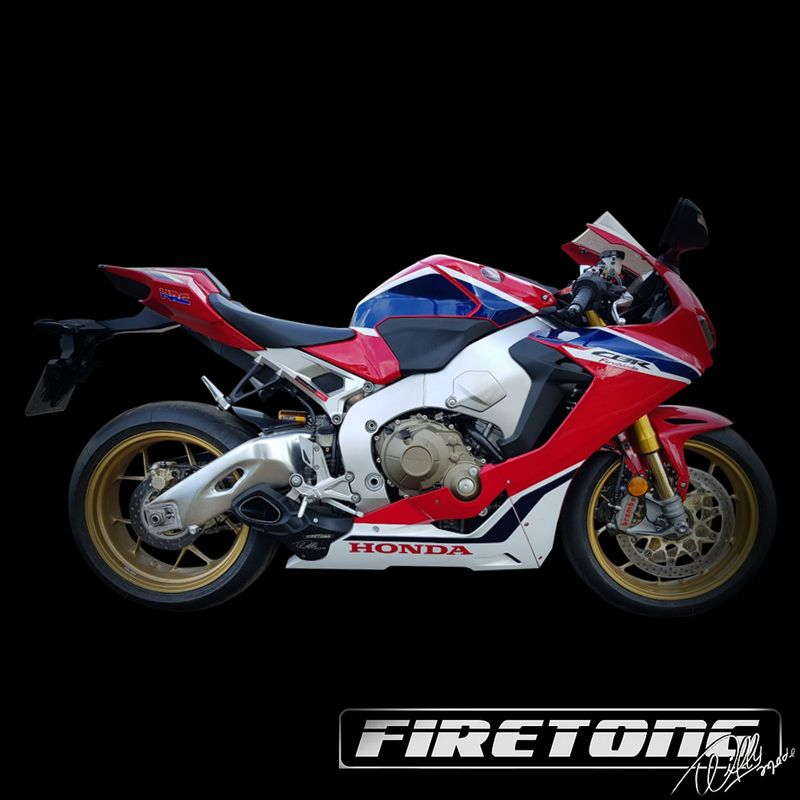 Escapamento Willy Made Honda CBR 1000 RR /2018  - Firetong