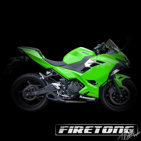 Escapamento Willy Made Kawasaki Ninja 400 / 2018  - Firetong