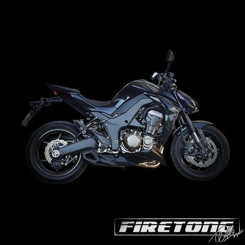 Escapamento Willy Made Kawasaki  Z1000  /14-18/   - Firetong