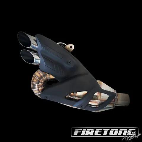 Escapamento Willy Made Ponteira Ducati Diavel /11-17/  - Firetong