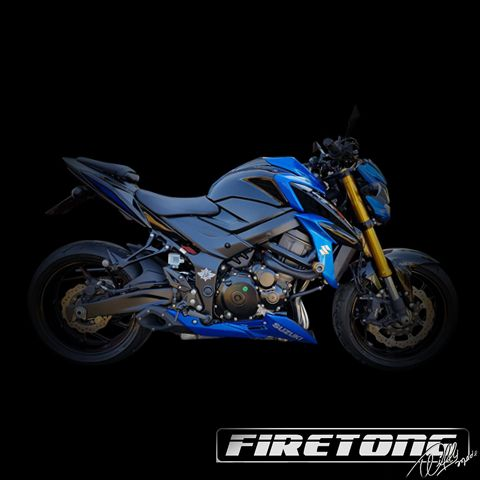 Escapamento Willy Made Suzuki GSX-S 750  /17/  - Firetong