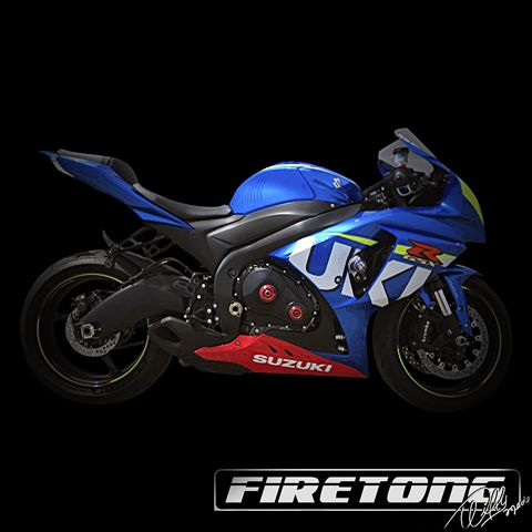 Escapamento Willy Made Suzuki SRAD 1000  /14-17/  - Firetong